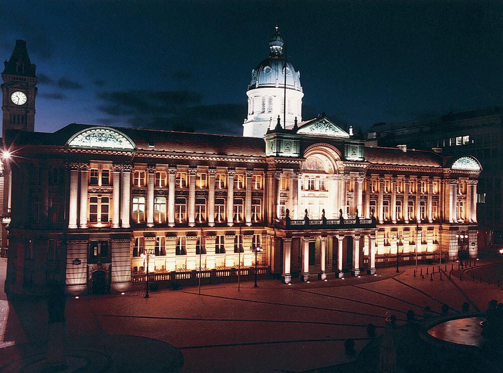 Birmingham Banqueting Suites - vue de l'extérieur