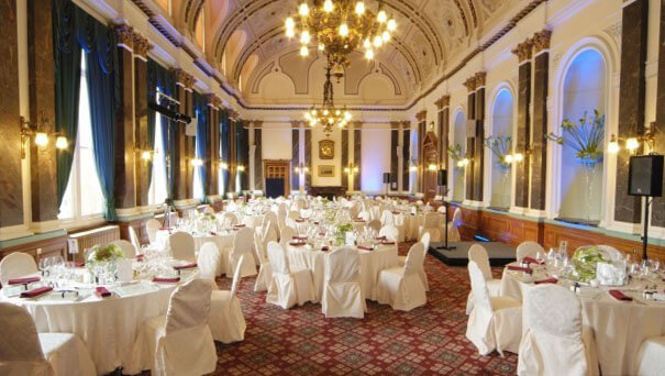 le Birmingham Banqueting Suites -vue de l'intérieur