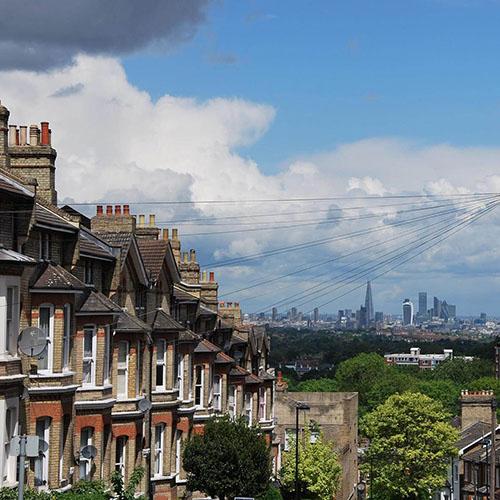 Vue sur Londres