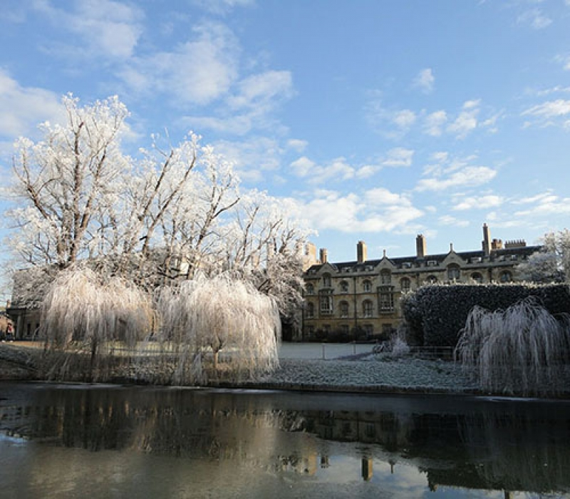 Cambridge - frozen university