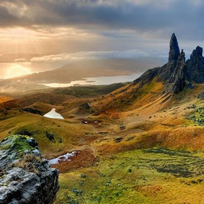 l'Ecosse et ses paysages