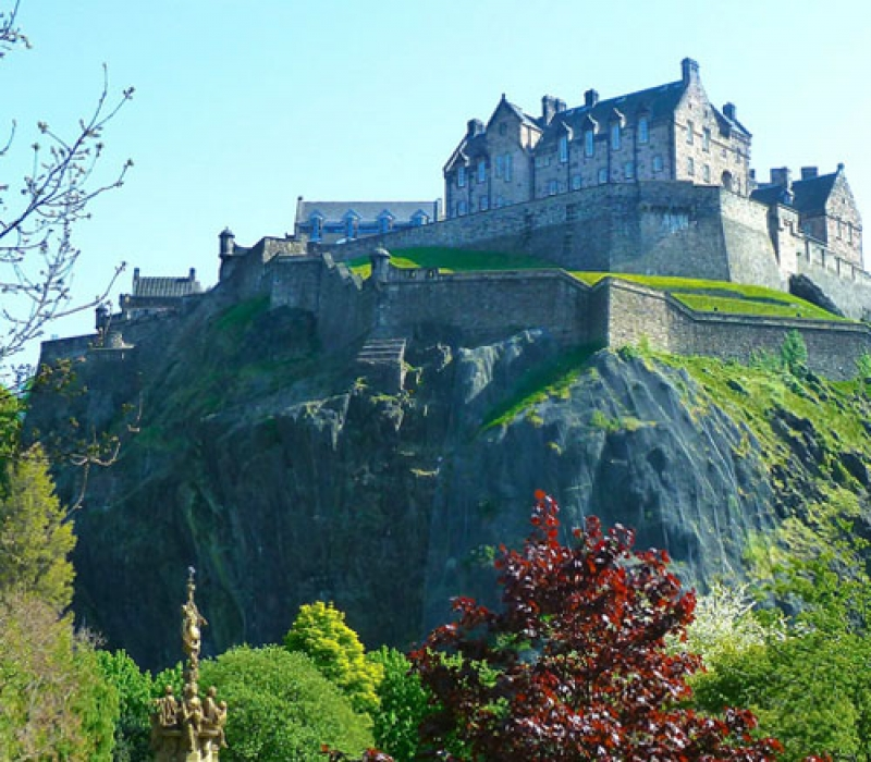 le chateau d'Edinburgh