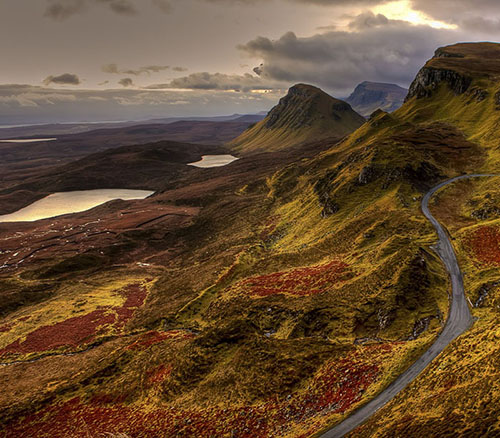 les Highlands en Ecosse